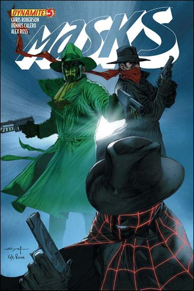 Masks 5-C by Dynamite Entertainment