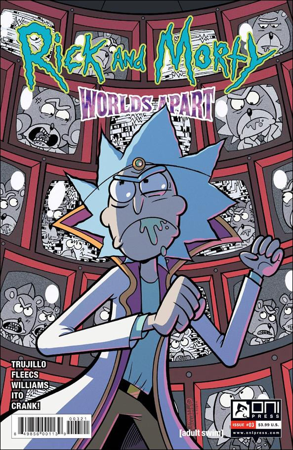 Rick and Morty: Worlds Apart 3-B by Oni Press