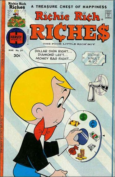 Richie Rich Riches 29-A by Harvey