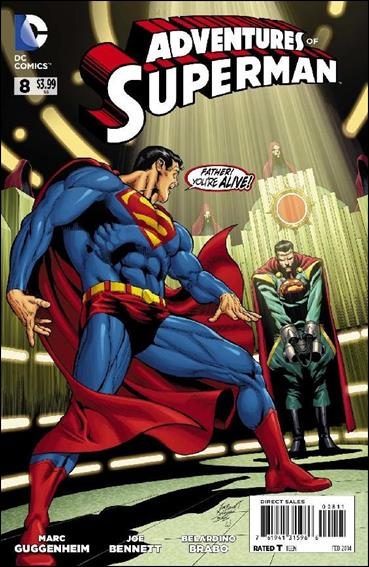 Adventures of Superman (2013) 8-A by DC