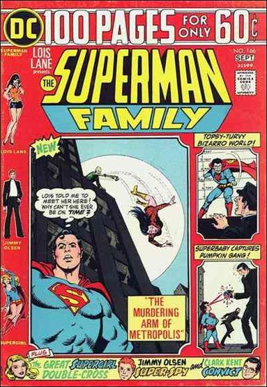Superman Family 166-A by DC