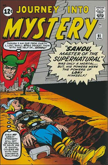 Journey into Mystery (1952) 91-A by Marvel