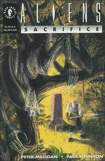 Aliens: Sacrifice 1-A by Dark Horse