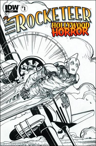 Rocketeer: Hollywood Horror 1-B by IDW