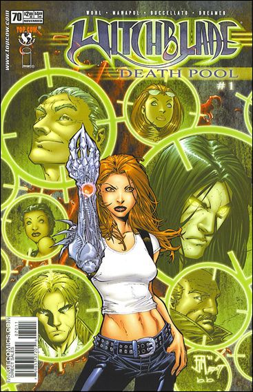 Witchblade 70-A by Top Cow