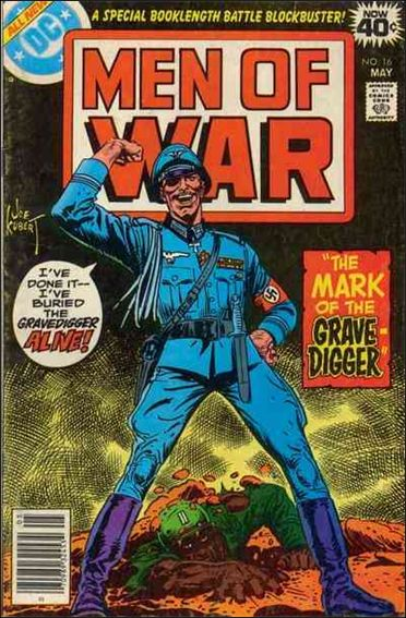 Men of War (1977) 16-A by DC