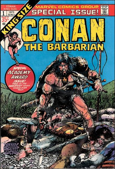 Conan Annual 1-A by Marvel