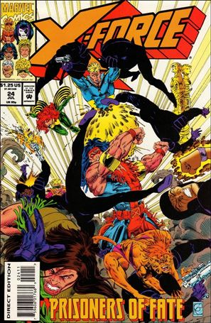 X-Force (1991) 24-A