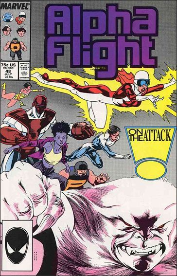 Alpha Flight (1983) 48-A by Marvel