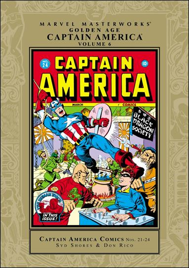 Marvel Masterworks: Golden Age Captain America 6-A by Marvel