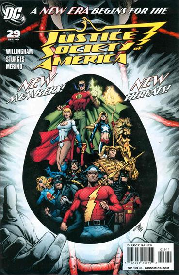 Justice Society of America (2007) 29-A by DC