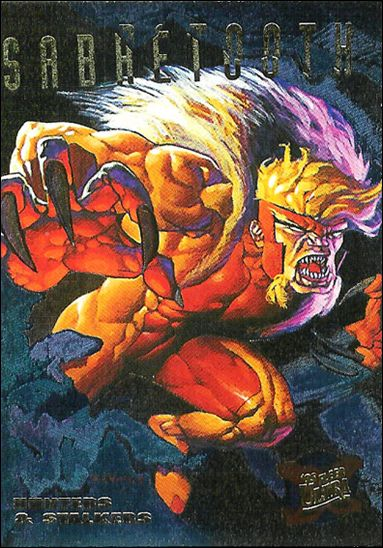1995 Fleer Ultra X-Men (Hunters & Stalkers Subset) 6-A by Fleer