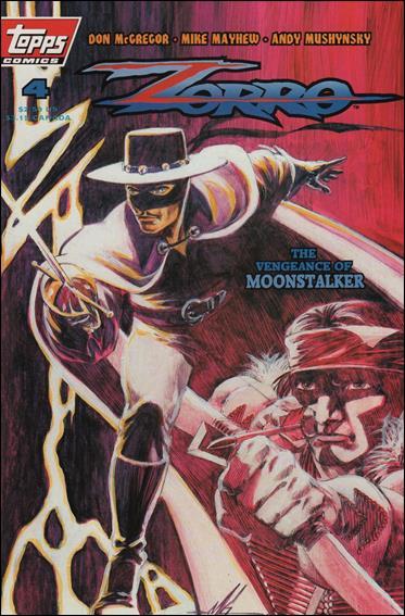 Zorro (1993) 4-A by Topps