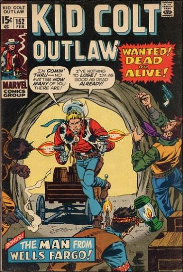 Kid Colt Outlaw  152-A by Marvel