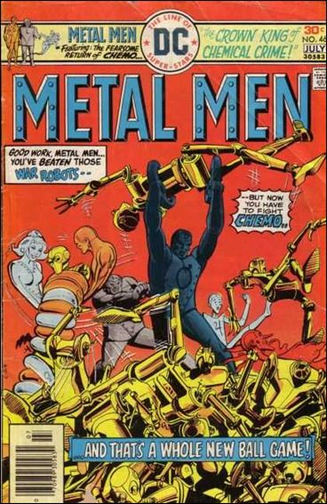 Metal Men (1963) 46-A by DC