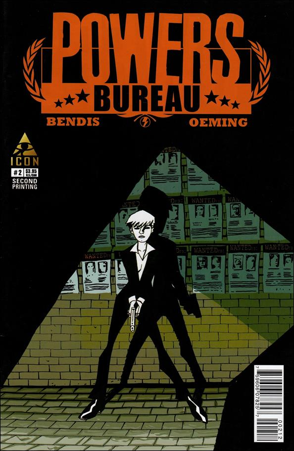Powers: The Bureau 2-B by Icon