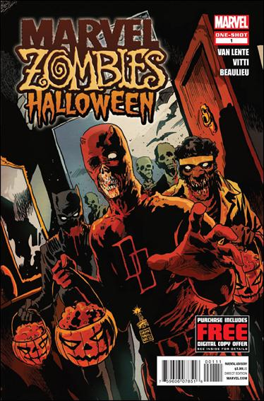 Marvel Zombies Halloween 1-A by Marvel