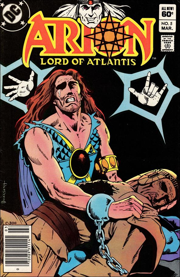 Arion, Lord of Atlantis 5-A by DC
