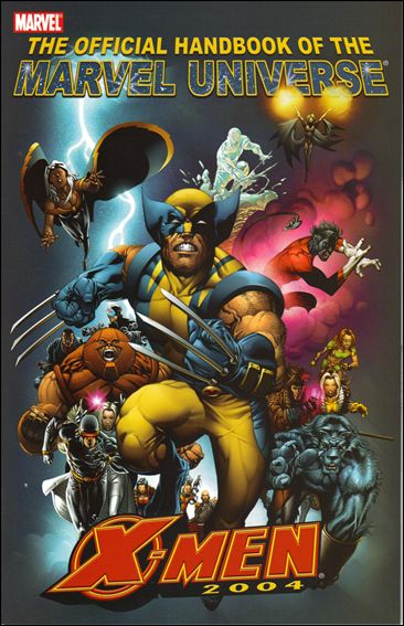 Official Handbook of the Marvel Universe: X-Men 2004 nn-A by Marvel