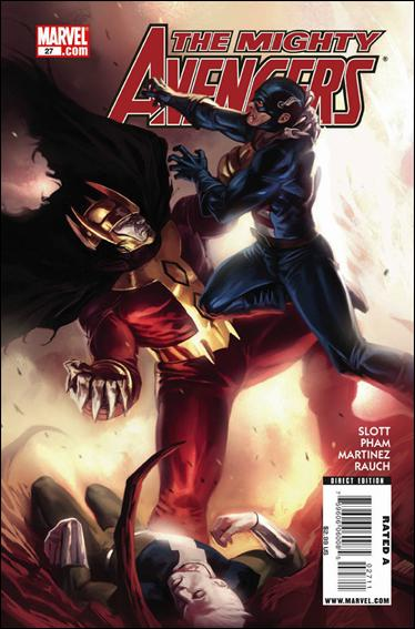 Mighty Avengers 27-A by Marvel