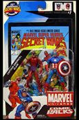 Marvel Universe: Secret Wars (Comic-Packs) Captain America and Klaw