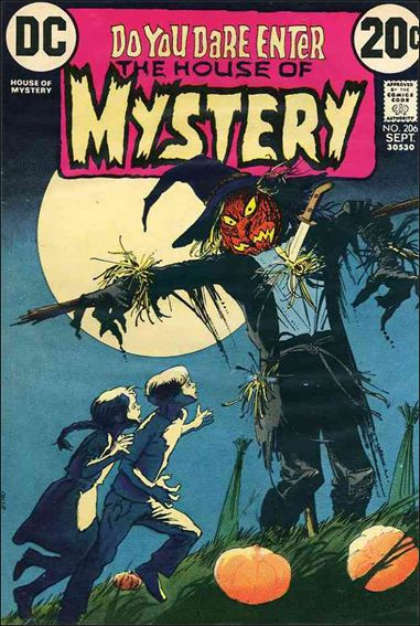 House of Mystery (1951) 206-A by DC