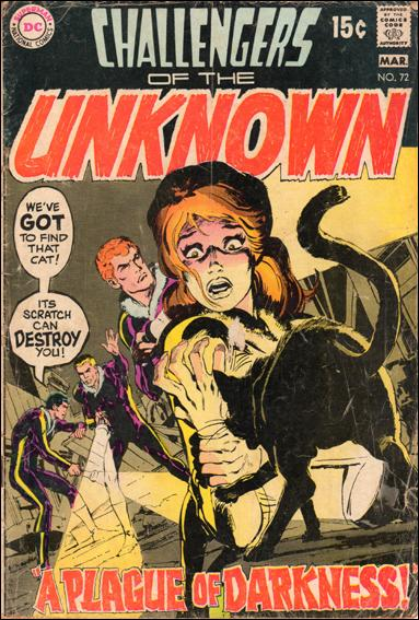 Challengers of the Unknown (1958) 72-A by DC