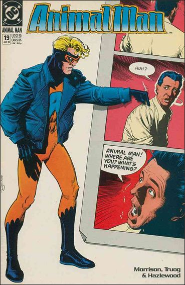 Animal Man (1988) 19-A by Vertigo