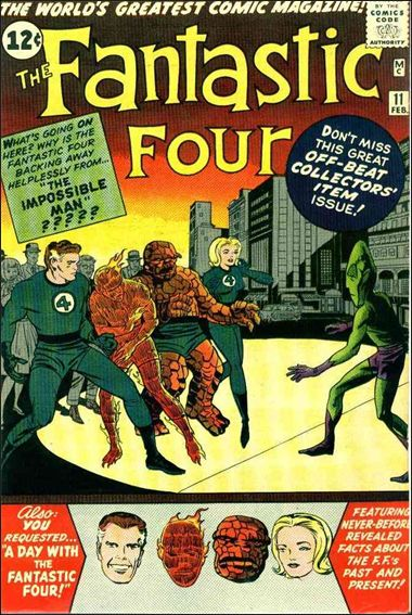 Fantastic Four (1961) 11-A by Marvel