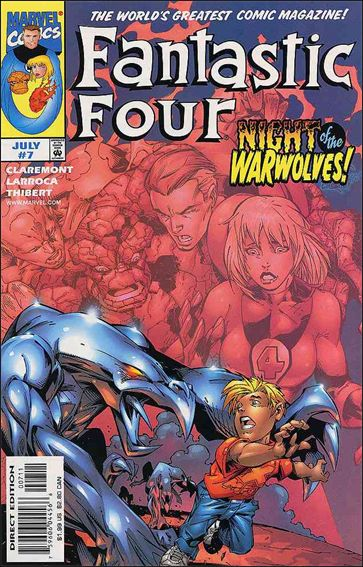 Fantastic Four (1998) 7-A by Marvel