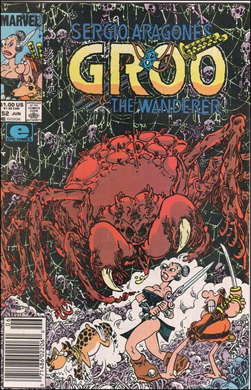 Sergio Aragones Groo the Wanderer 52-A by Epic