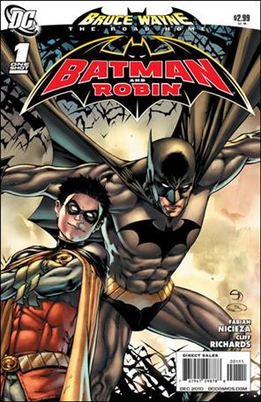 Bruce Wayne: The Road Home: Batman and Robin 1-A