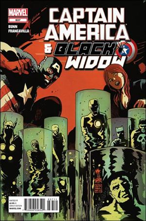 Captain America and Black Widow 637-A