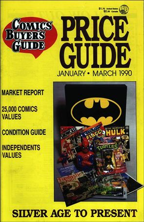 Comics Buyer's Guide Price Guide 4-A