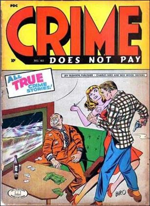 Crime Does Not Pay 40-A
