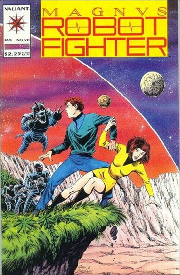 Magnus Robot Fighter (1991) 20-A by Valiant