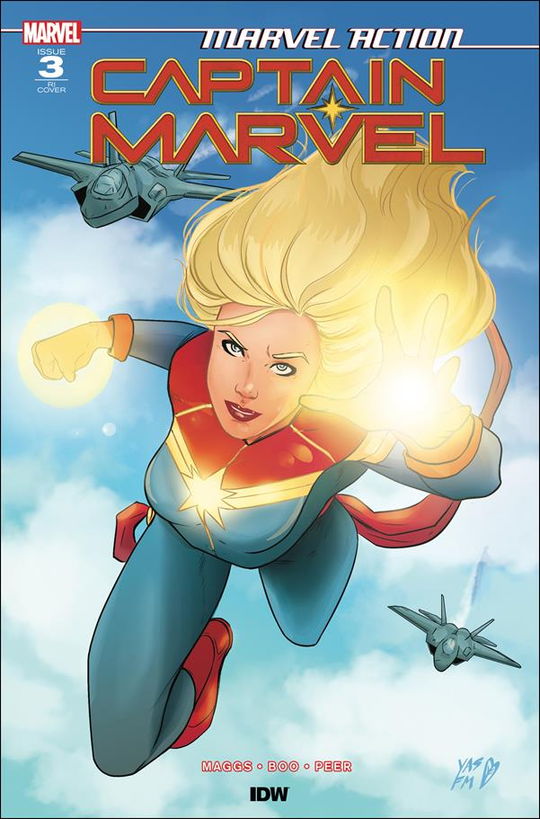 Marvel Action: Captain Marvel 3-B by IDW