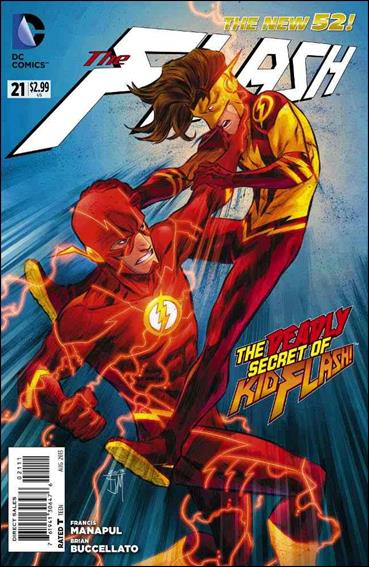Flash (2011) 21-A by DC