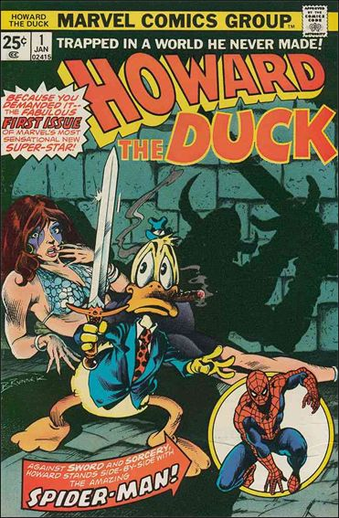 Howard the Duck (1976) 1-A by Marvel