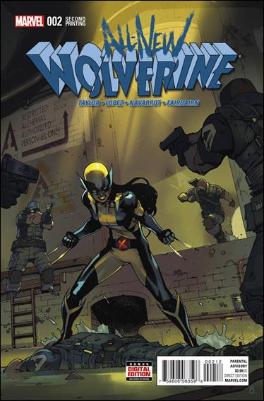 All-New Wolverine  2-C by Marvel