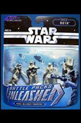 Star Wars: Unleashed Multi-Figure Battle Packs Battle of Hoth - Rebel Alliance Troopers