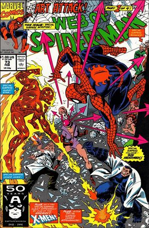 Web of Spider-Man (1985) 73-A