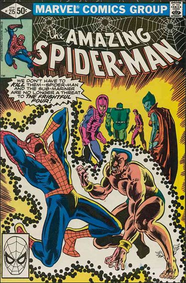 Amazing Spider-Man (1963) 215-A by Marvel