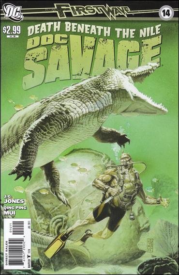 Doc Savage (2010) 14-A by DC
