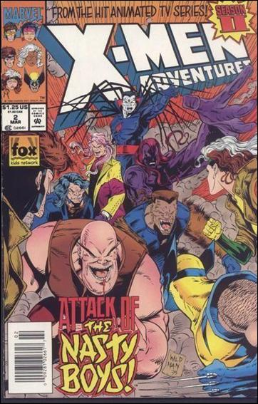 X-Men Adventures (1994) 2-A by Marvel