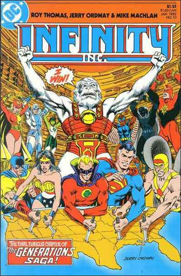 Infinity Inc. (1984) 10-A by DC