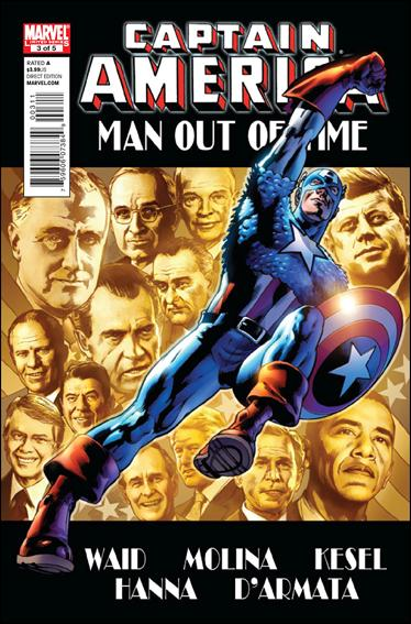 Captain America: Man Out of Time 3-A by Marvel