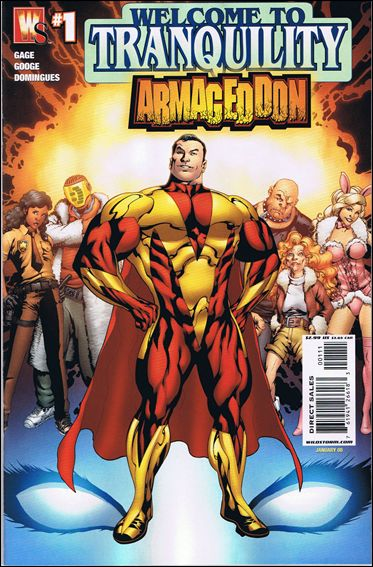 Welcome to Tranquility: Armageddon 1-A by WildStorm