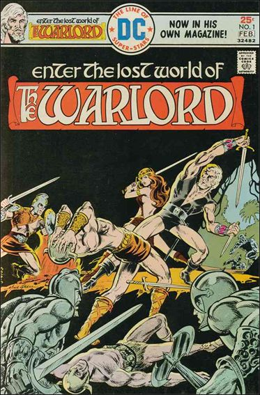 Warlord (1976) 1-A by DC