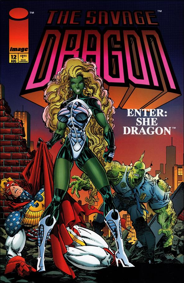 Savage Dragon (1993) 12-A by Image